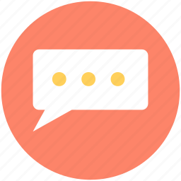 conversation, message, speech bubble, text message, texting icon