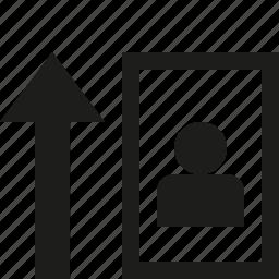 horisontal, print icon