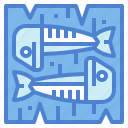 fish, food, fried, life, mackerel, sea