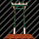architecture, bangkok, brahmin swing, giant swing, landmark, sao ching cha, thailand icon
