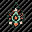 asian, decorative, oriental, ornament, pattern, thai pattern, thailand icon