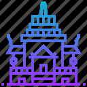 buddha, building, maha, sculpture, suwan, thailand icon