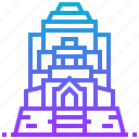 building, landmark, mahathat, thailand, wat icon