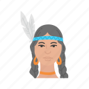 head dress, indian, indian woman, thanksgiving icon