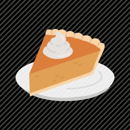 baked pie, pie, slice pie, thanksgiving icon