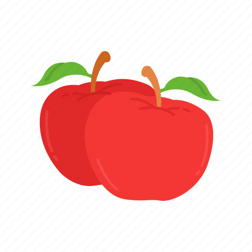 apple, fruit, red apple, thanksgiving icon