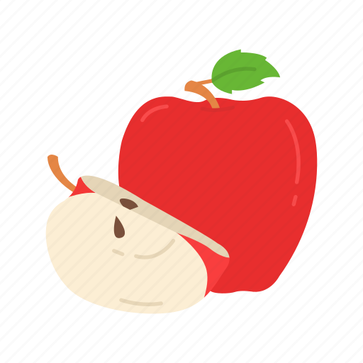 Apple, fruit, red apples, thanksgiving icon - Download on Iconfinder