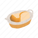bread, bread basket, slice bread, thanksgiving, white bread icon