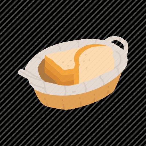 bread, bread basket, slice bread, thanksgiving, white bread icon