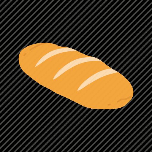 bread, cut bread, fresh bread, slice bread icon