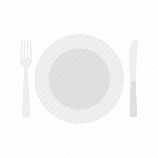 dinner plate, plate, table setting, thanksgiving icon