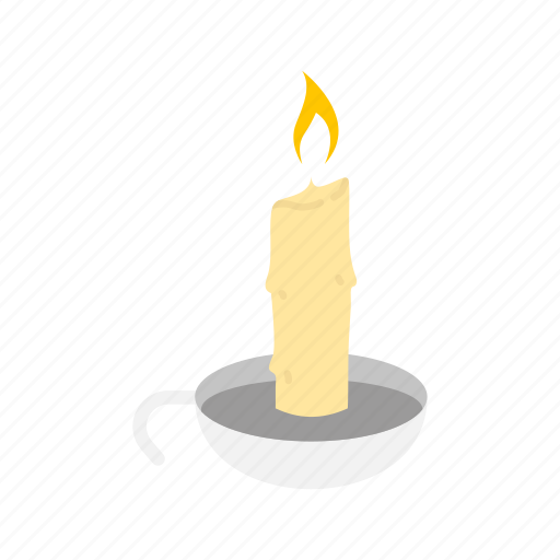 candle, candle holder, lamp, light icon