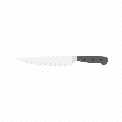 carving knife, knife, meat knife, slice icon