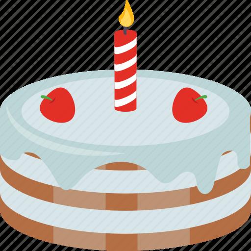 birthday cake, cake, celebration, cream cake, dessert icon