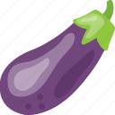 brinjal, eggplant, food, ingredient, organic, vegetable icon