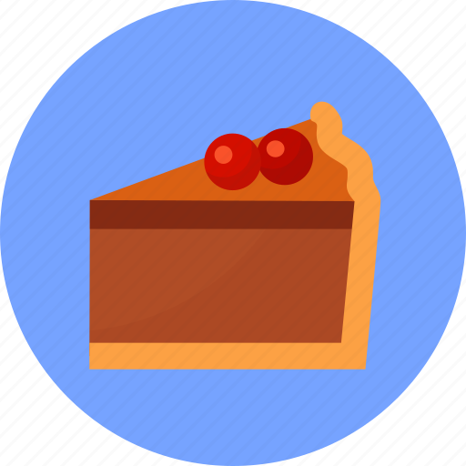 cherry, holiday, pie, thanksgiving icon