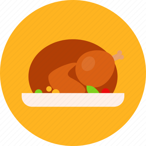 eat, food, holiday, party, thanksgiving, turkey icon