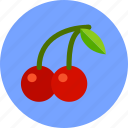 cherry, fruit, holiday, thanksgiving icon