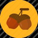 autumn, chestnut, grain, holiday, thanksgiving icon