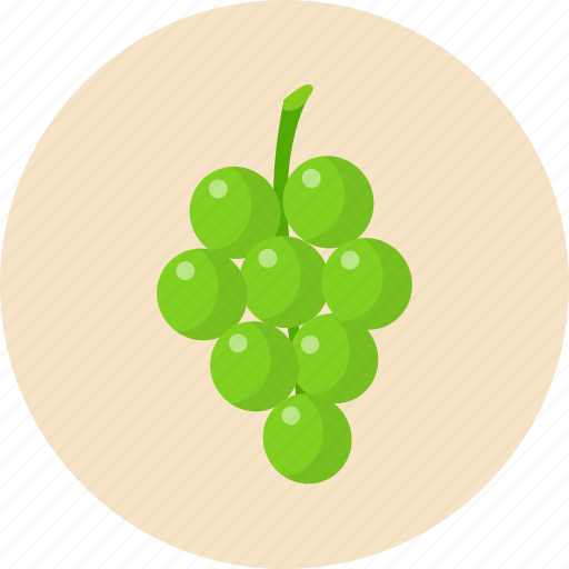 fruit, grapes, holiday, thanksgiving icon