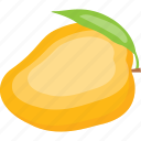 juicy fruit, king fruit, mango, organic, ripe fruit icon
