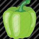 bell pepper, capsicum, pepper, sweet pepper, vegetable icon