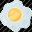 egg, egg yolk, fried egg, cooked egg, healthy breakfast