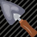 cake spatula, cake spoon, kitchen utensil, pizza spatula, spoon icon