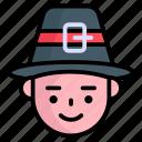 cowboy, hat, man, fashion, floppy, western, avatar