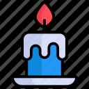 candle, light, decoration, celebration, flame, fire, birthdaycandle