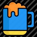 beer glass, drink, alcohol, glass, wine, beverage, mug