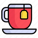 tea cup, coffee-cup, tea, coffee, cup, drink, breakfast