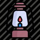 lantern, lamp, outdoor, night, camping, light, fuel