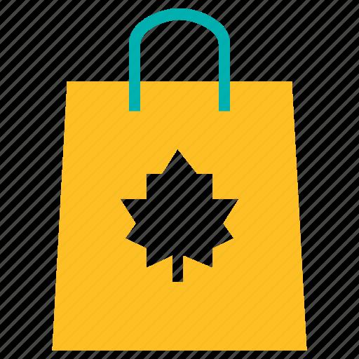 autumn, bag, black friday, sale, shopping, thanksgiving icon
