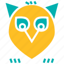 halloween, night, owl, thanksgiving icon