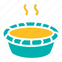 cake, dessert, pie, pumpkin, sweet, thanksgiving icon