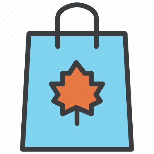 autumn, bag, black friday, sale, shopping, thanksgiving icon
