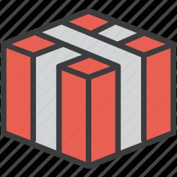 box, gift, present, presentation, thanksgiving icon