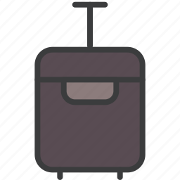 baggage, luggage, suitcase, travel, vacation icon