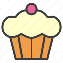 cake, dessert, muffin, sweet, thanksgiving icon