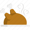 chicken, cooking, food, kitchen, restaurant, thanksgiving, turkey icon