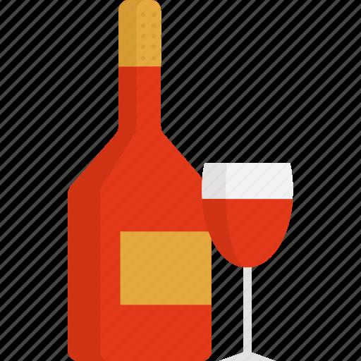alcohol, drink, romantic, thanksgiving, wine icon