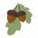 holiday, leaf, day, acorn, thanksgiving, tree, oak