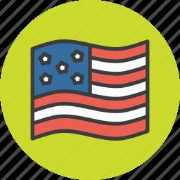 american, flag, thanksgiving, usa icon