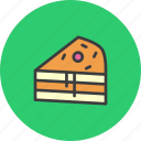 cake, cranberry, dessert, pie, slice, sweet, thanksgiving icon