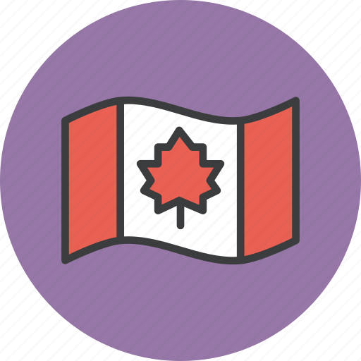canada, canadian, canuck, flag, leaf, maple, thanksgiving icon