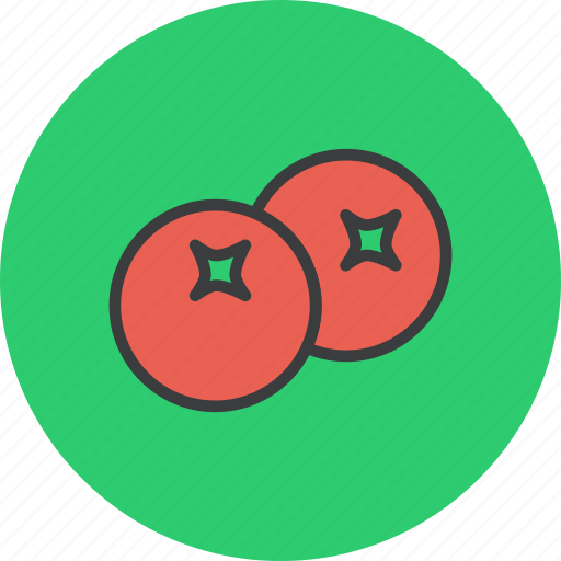 berry, cranberry, fruit, thanksgiving icon
