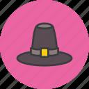 cap, hat, pilgrim, thanksgiving, tradition