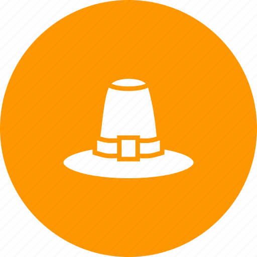 cap, hat, pilgrim, thanksgiving, tradition icon