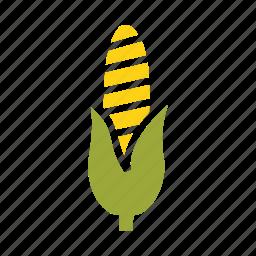 autumn, corn, food, sweet, thanksgiving, vegetable icon
